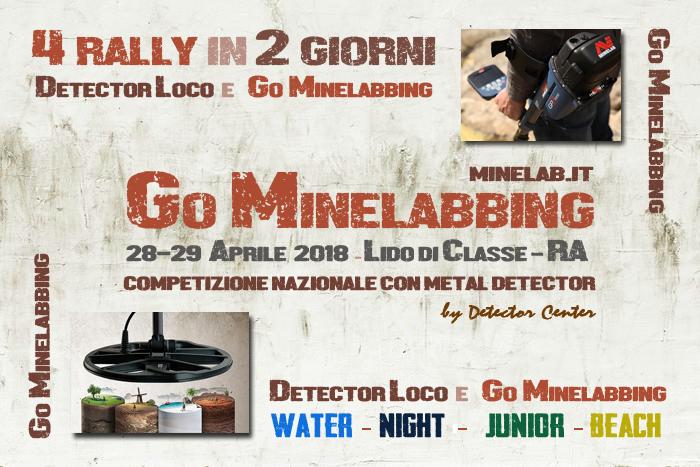 Go Minelabbing 28-29 aprile