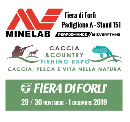 Minelab in fiera a Forlì
